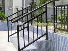 Wrought iron handrails capture a timeless design, perfect for any home or building. Pin On Ideas For The House