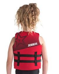 Jobe Vest Size Chart Jobe Neoprene Life Vest Kids Red