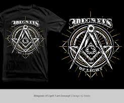 Freemason Design T Shirt Design For Bigvision By Grebo Design 5113697