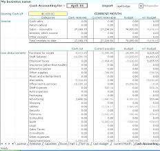 Excel Budgeting Templates Construction Accounting Ledger Template