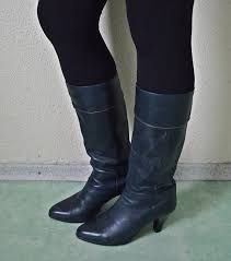 sandi pointe virtual library of collections navy blue leather boots womens
