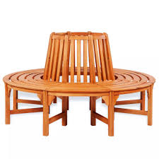 Rundbank Baumbank Holz