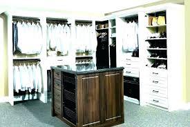 closet reviews models and shelving wood tower shelves furniture row credit card kit stunning shelf allen roth wall orga