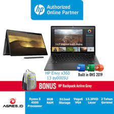 HP Laptop Envy x360 13-ay0005AU 2in1 Touch/13.3