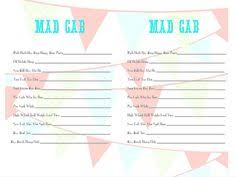 This Is The Most Enjoyable Valentines Baby Shower Game You Will PlayBaby Shower Mad Gab