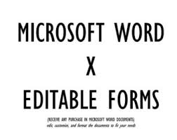 word doc forms freelance templates