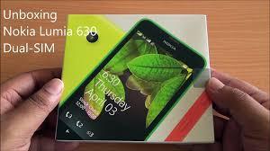 Nokia Lumia 630 Dual SIM Unboxing and ...
