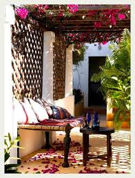 Pergola +Trellis + Tables. Simple and lovely, tables can be brought ...