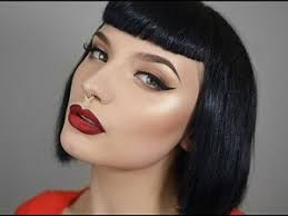 1950s glam makeup tutorial heres a really quick and easy old hollywood inspired makeup tutorial
