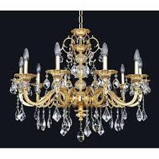wide crystal chandelier light 1 2 36