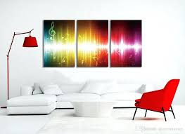 wall paintings for office. Artwork For Office Beating Music Notes Canvas Wall Art Paintings Colorful  Abstract Home . Like This Item