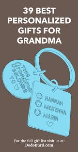 39 best personalized gifts for grandma customized just for her