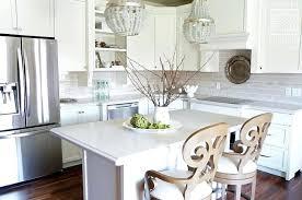 kitchen island chandelier small kitchen island with gray beaded chandeliers chandelier height over kitchen island
