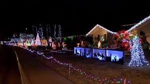 Candy Cane Lane Decorations Texas Panhandle neighborhoods light up with Christmas cheer KVII 52