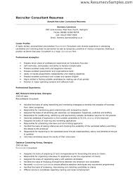 Awesome Diversity Recruiter Sample Resume Resume Cover Letter