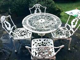 full size of white plastic garden tables and chairs dining table uk wrought iron patio best