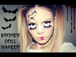 y broken doll ager makeup