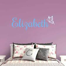 wall monograms erfly script personalized name fathead wall monograms