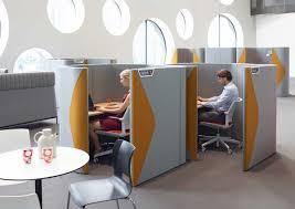 Pods office Collaboration We Can Use Pods To Create Work And Breakout Spaces That Will Suit Any Workplace Interior No Matter What Your Specifications Or Meeting Number Are Abbey Business Group Office Work Break Out Pods Abbey Business Group
