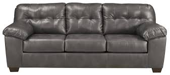 contemporary faux leather sofa w pillow arms by signature design by furniture leather repair kit furniture leather sofa