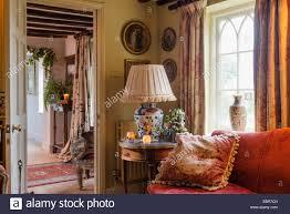 Tapestry Sofa Living Room Furniture Room Nobody Tapestry Stock Photos Room Nobody Tapestry Stock
