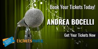 Andrea Bocelli Tickets December 2019 Tour Tickets