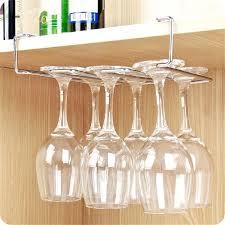 wall wine rack stainless steel wine glass holder under cabinet wall wine rack storage organizer stemware wall wine rack