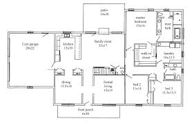 rancher house plans. Rockin Ranch 1- 1st. Floor Plan Rancher House Plans