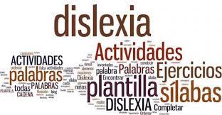 Resultado de imagen de fichas dislexia