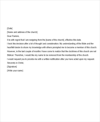 Simple Letter Of Resignation Example 14 Basic Resignation Letters Free Sample Example Format