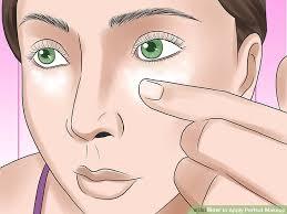 image led apply perfect makeup step 4