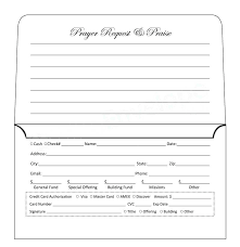 Donation Envelope Donation Envelope Template