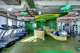 Futuristic google tel aviv Interior Gym Livabl Take Visual Tour Of Googles Office In Tel Aviv From The Grapevine