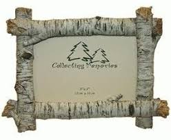 rustic wood picture frames. Rustic Birch Wood Log 4x6 Photo Frame (Horizontal) Picture Frames