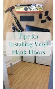 tips for installing luxury plank vinyl flooring from a