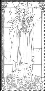 Our Lady Of Guadalupe Coloring Page Style Dom