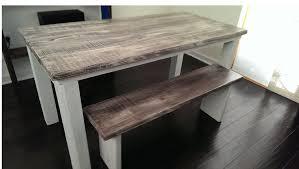 white farm table. Beautiful Distressed Farm Table 29 3154814409 1346216262 White M