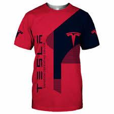 Tesla Clothing Size Chart Details About Tesla Mens 3d T Shirt Size S M L Xl 2xl 3xl 4xl 5xl Us Size Top Gift