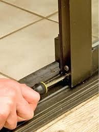 patio door track repair sliding glass door track repair door designs plans sliding screen door track repair