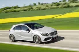2016 Mercedes A-Class Facelift Debuts With New 1.6 Engine and ...