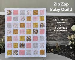 Are you familiar with Westwood Acres? This is a unique online ... & Hour Baby Quilt {The Zip Zap Baby Quilt} tutorial Adamdwight.com