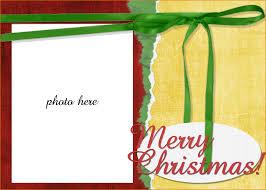 Free Printable Christmas Card Templates Christmas Lights Decoration