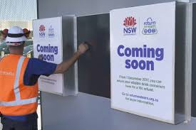 How Do Reverse Vending Machines Work Interesting Yass Valley Receives Return And Earn Reverse Vending Machine Yass