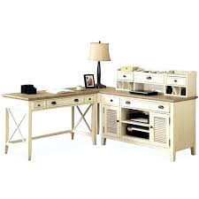 white desk home office. Oak White Desk Home Office O