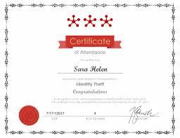 Attendance Award Template Certificate Template Archives Simplecert