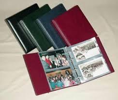 Photot Albums Kobra Collectors Accessories Small Postcard Albums Approx 21 X