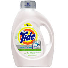 High Efficiency Detergent Brands Shop Tide Free And Gentle 100 Fl Oz He Laundry Detergent At Lowescom