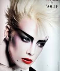 style new romantic makeup and hair find this pin and more on punk 80s