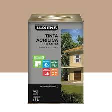 Seja como for, as cores nas paredes e as diversas formas de pintura podem dar um ar completamente novo a uma casa. Tinta Acrilica Fosco Premium Camurca 18l Luxens Leroy Merlin