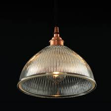 picture of boston industrial holophane pendant light